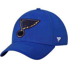 538de1fa0a3 Men s St. Louis Blues Fanatics Branded Blue Elevated Core Speed Stretch Fit  II Flex Hat