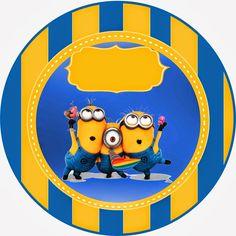 Despicable Me 2 Free Printable Kit. Minion Card, Minion 2, Minion Theme, Happy Birthday Baby, Minion Birthday, Free Printable Invitations, Free Printables, Festa Toy Story, Cake Templates