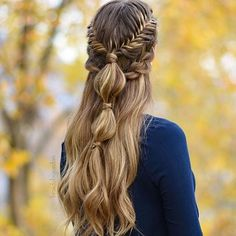Hairstyles and Beauty: The Internet`s best hairstyles, fashion and makeup pics are here. Creative Hairstyles, Messy Hairstyles, Pretty Hairstyles, Medieval Hairstyles, Curly Hair Styles, Natural Hair Styles, Modelos Fashion, Braids For Long Hair, Grunge Hair