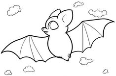 In funny realistic and cartoon of bat coloring pages, kids ages 4 and up will enjoy hours of happy entertainment while reinforcing their knowledge of Sun Coloring Pages, House Colouring Pages, Alphabet Coloring Pages, Mandala Coloring Pages, Animal Coloring Pages, Coloring Pages For Kids, Coloring Books, Bats For Kids, Paw Patrol Characters
