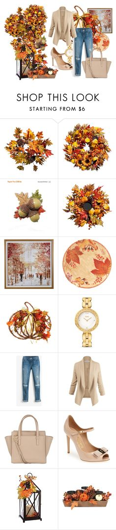 """""""Welcome September!!"""" by sakura1987 ❤ liked on Polyvore featuring Improvements, Fitz & Floyd, Fendi, White House Black Market and Salvatore Ferragamo"""
