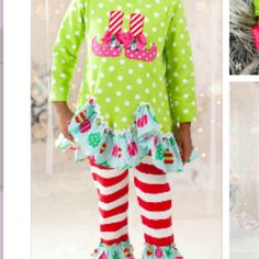 Peaches 'N Cream Holiday Elf from Freckles Children's Boutique for $79.00