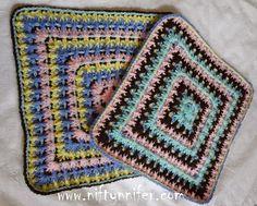 Free Crochet Pattern ~Twist & Shake Square by Niftynnifer's Crochet & Crafts