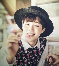 Jimin. He's so cute, I'm gonna kill him<3