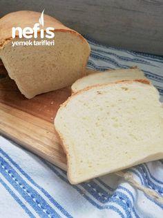 Yumuşacık Tost Ekmeği – Nefis Yemek Tarifleri Food Words, Dairy, Food And Drink, Bread, Cheese, Cookies, Health, Crack Crackers, Health Care