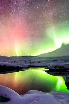 Iceland, one of the 9 Best Places to Travel in January via @PureWow