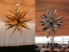 Gigantic Chandelier sculptures for a very special 75th Birthday at the Opera house this year!