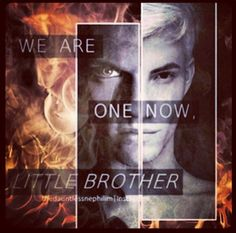 """""""We are one now little brother"""" -Jonathan Morgenstern in The City of Fallen Angels"""