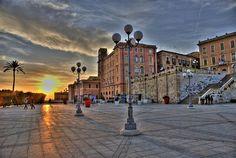Cagliari, Sardinia.. Taylor LIVES here!