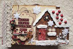 Gingerbread Mini Album by Fern Riley - Nov. 9, 2011