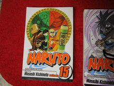 Naruto Masashi Kishimoto Shonen Jump Manga Anime vol issue #15 comic book