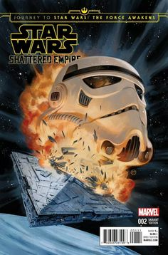 Star Wars: Shattered Empire #2 variant cover by Julian Totino Tedesco