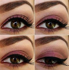 Great makeup looks for brown eyes