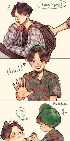 Read 1 from the story Fanarts: YoonSeok/Sope/Hopega🌸 by HobiLena with reads. Bts Chibi, Bts Suga, Bts Bangtan Boy, Bts Memes, J Hope Dance, Fanart Bts, Kawaii, Bts Drawings, Funny Drawings