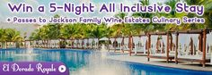 Win a 5 Night All Inclusive Stay in Riviera Maya Mexico
