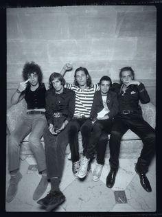 The Strokes circa 2001