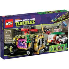 LEGO Ninja Turtles The Shellraiser Street Chase Play Set