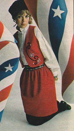 Design America… where sizzling young ideas pop up daily…' (1968) #Seventeen