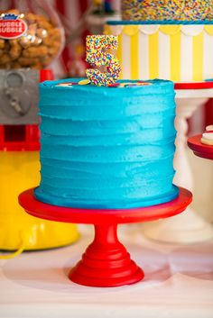 15 Creative Circus and Carnival Themed Cake Ideas Pink Cake Box
