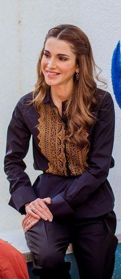 Queen Rania, October 28 2015, Jerash