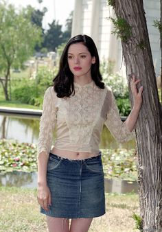 Rose McGowan is Paige Matthews in Charmed