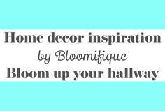 Get inspired by the ways you can use flowers and plants as decoration in a hallway.