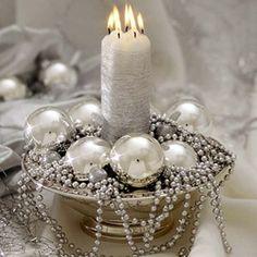 Tips Decoración Navidad - Centros de Mesa con Velas