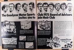 Goodyear Motor Sports Club Featuring Racing by VintageVirtus