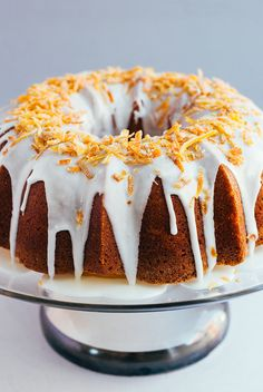 This simple bundt cake recipe uses the flavors of the season to make a light and refreshing dessert for your next springtime soirée.