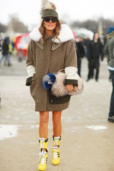 When it comes to Fashion Week street style, nobody does it better than Anna Dello Russo.  Source: Tim Regas