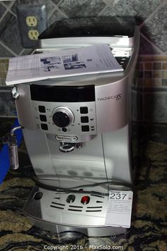 Magnifica XS Coffee Machine and more in North Wales Online MaxSold Auction. Bid online now!