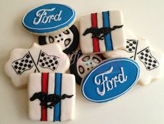 Ford Mustang Cookies
