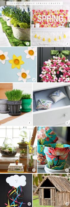 10 Great Early Spring Craft Projects