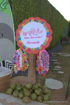 Festa Hawaiana - Cordões Lei