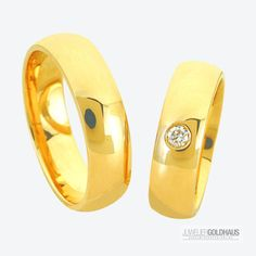 Trauringe Eheringe Gold Gelbgold - C025
