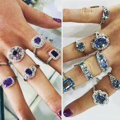 Royal Blues or baby blues...? #.... #portfairy #portfairyfashion #portfairyjeweller #sapphires #tanzanite #aquamarine #bluetopaz #engagementring #diamonds #destinationwarrnambool #destinationportfairy #greatoceanroad by loveleskes http://ift.tt/1UokfWI