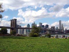 Manhattan Bridge Seattle Skyline, New York Skyline, Manhattan Bridge, Travel Bugs, To Go, Spaces, Random, Awesome, Photos