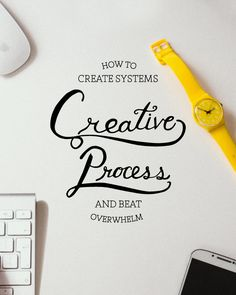In this Creative Process post, we talk systems. How do we create them and how do they free us up in our craft?