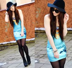 Let the sun shine (by Rebekah Wing) http://lookbook.nu/look/4653901-let-the-sun-shine  http://store.lovelysally.com/collections/dresses/products/tempesta-dress