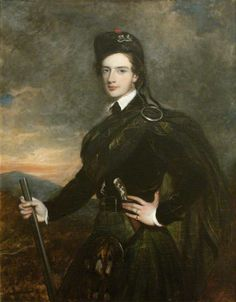 Francis Garden (1721–1793), Lord Gardenstone, 5th of Troup, in His Kilt and Plaid by Tilly Kettle( circle of) BBC - Your Paintings -