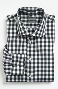 Calibrate Trim Fit Non-Iron Dress Shirt available at #Nordstrom