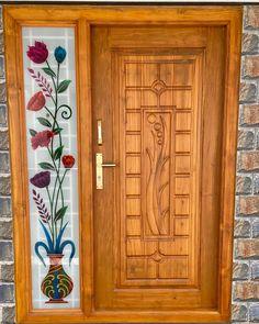 Door Design Images, Home Door Design, Door Gate Design, Door Design Interior, Interior Modern, House Design, Window Glass Design, Window Grill Design, Wooden Front Door Design