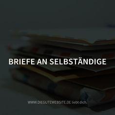 Weil man sich auf E-Mails auch freuen kann. http://www.diegutewebsite.de/briefe.html
