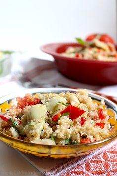 10-Minute Italian Quinoa Salad | C it Nutritionally #glutenfree #vegan #healthyeating