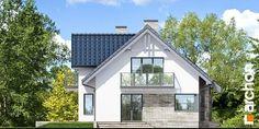 Dom pod liczi 5 (P) Bungalow House Design, Design Case, Shed, Villa, Outdoor Structures, Architecture, Outdoor Decor, Projects, Facades