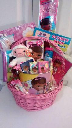 NOW $55  SALE DOC MCSTUFFINS Pink Girl's Gift Basket