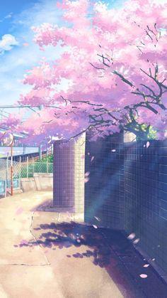 Anime Backgrounds Wallpapers, Anime Scenery Wallpaper, Pretty Wallpapers, Wallpaper Animes, Kawaii Wallpaper, Scenery Background, Background Images, City Art, Aesthetic Backgrounds