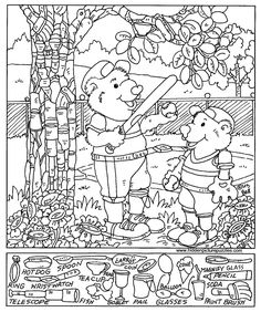 7 Best Images of Hidden Pictures Printables For Adults - Free Hidden Object Printable Worksheets, Winter Hidden Objects Printables and Free Printable Hidden Picture Coloring Pages Free Printable Coloring Pages, Free Coloring Pages, Coloring Sheets, Free Printables, Hidden Picture Games, Hidden Picture Puzzles, Hidden Pics, Hidden Pictures Printables, Highlights Hidden Pictures