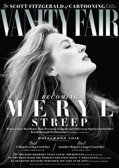 Meryl Streep - Vanity Fair USA April 2016