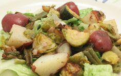 Ultimate Daniel Fast: Roasted potato salad